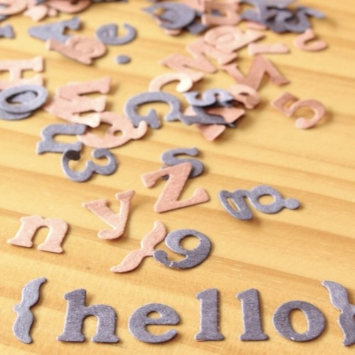 残2【アルファベット付】作りやすい飾りセット