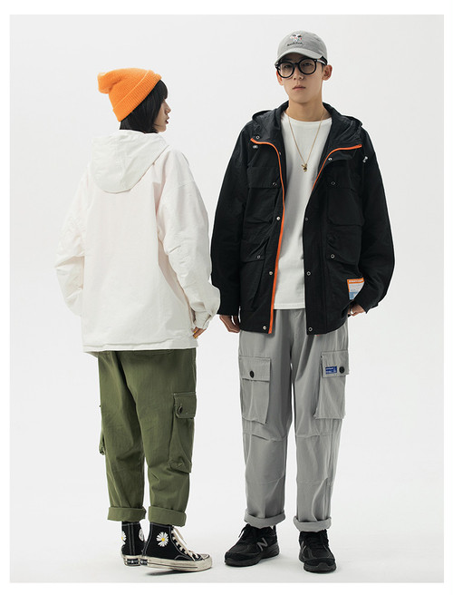 ★UNISEX  カジュアルウィンドジャケット 韓国ファッション