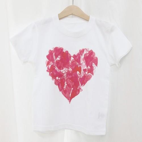 キッズTシャツ ラブ迷彩 120サイズ