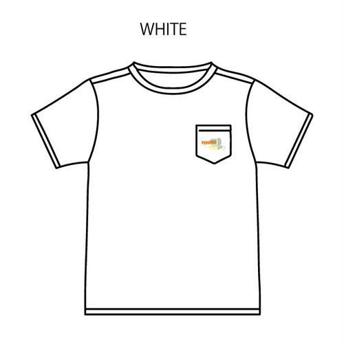 パソコン刺繍Tシャツ(白)