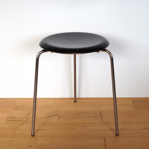 Fritz Hansen(フリッツ・ハンセン) ドットスツール 3170 Arne Jacobsen(アルネ・ヤコブセン) ブラック ビンテージ 1970年 2