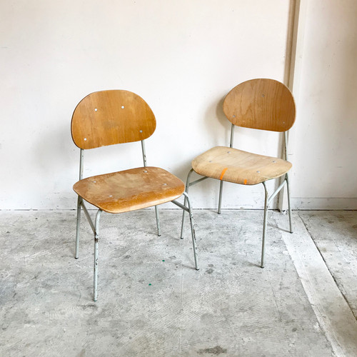 French 50's Kids Chair フランスヴィンテージ L.GLAY