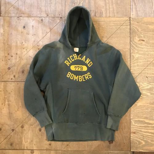 "70s champion Reverse Weave hoodie ""Green"" rw275"