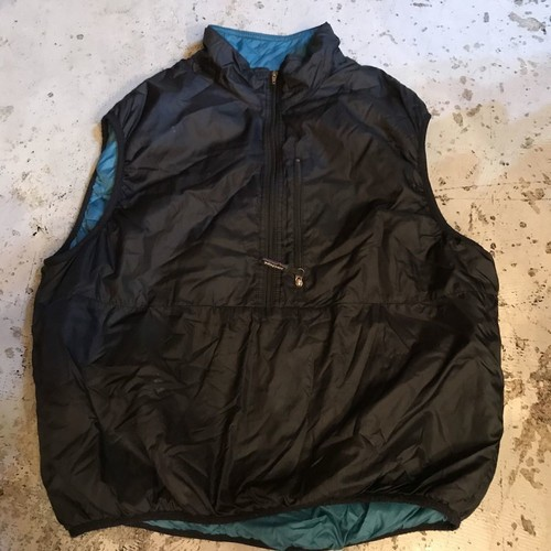 patagonia puffball vest  XL BLACK MADE IN U.S.A 90s UT-2562