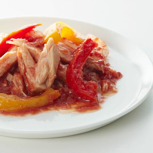 赤山椒トマト仕立て