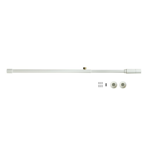 001 Tension Rod A (Horizontal/Vertical) ホワイト 取付寸法75~115cm 縦横兼用 D-A-WH 840310