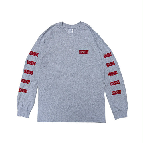 scar /////// BLACKBOX L/S TEE (Grey)