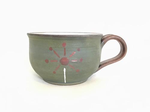 陶器 花火マグカップ(工房ことりの)