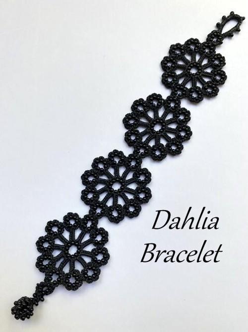 ボンジュクオヤのブレスレット ダリアA(カラーは商品内ページよりお選びください。)