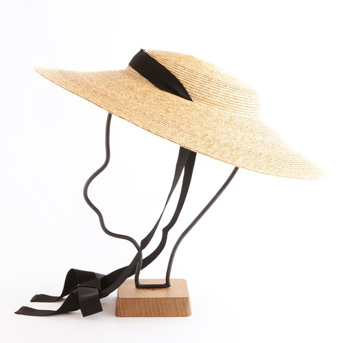 mature ha. /6mm braid straw hat middle