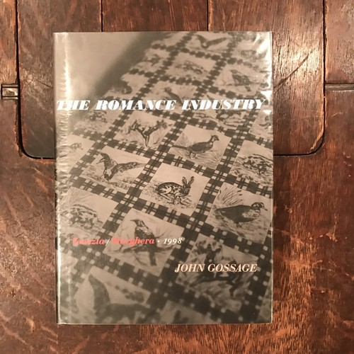 The Romance Industry / John Gossage(ジョン・ゴセージ)