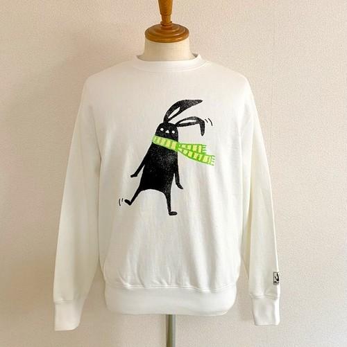 Shabby Twilight Muffler Sweat Shirts Off White