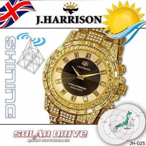 コピー:コピー:J,HARRISON シャニングソーラー電波腕時計 JH-025GB