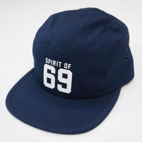 69 COTTON JET CAP   NAVY