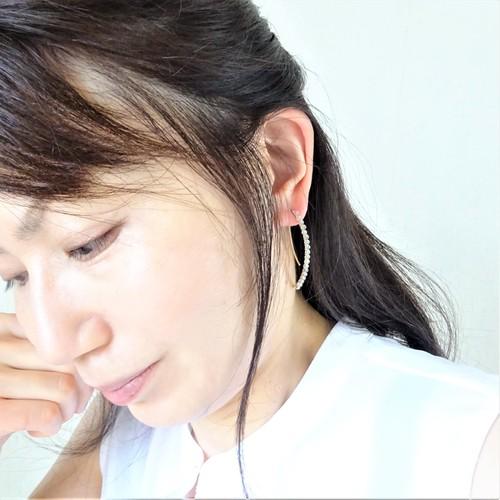 送料無料 14kgf*宝石質Labradorite wrapped marquis pierced earring