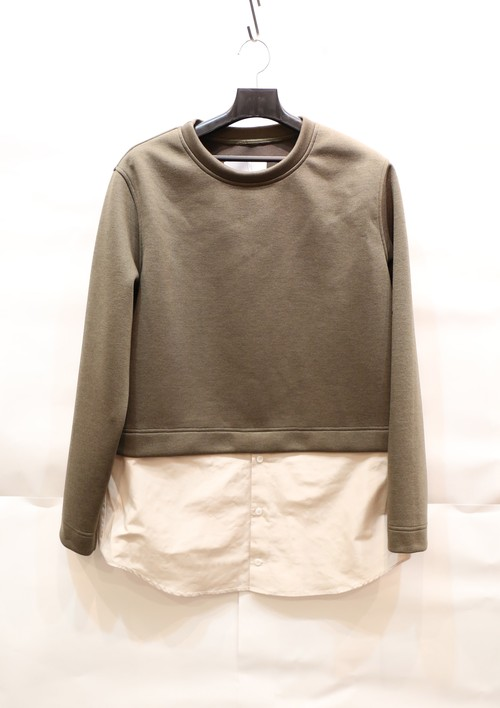 【MEN】Layered Sweat