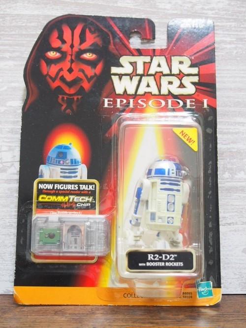 スター・ウォーズ エピソード1 R2-D2-ハズブロ コムテックフィギュア