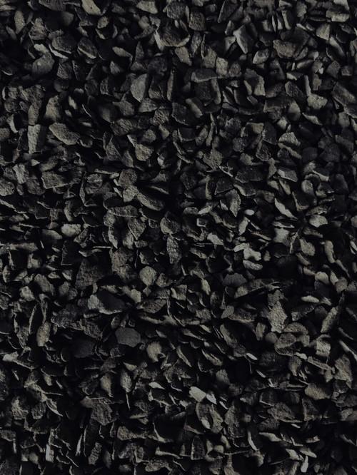 瓦化粧石 黒燻S