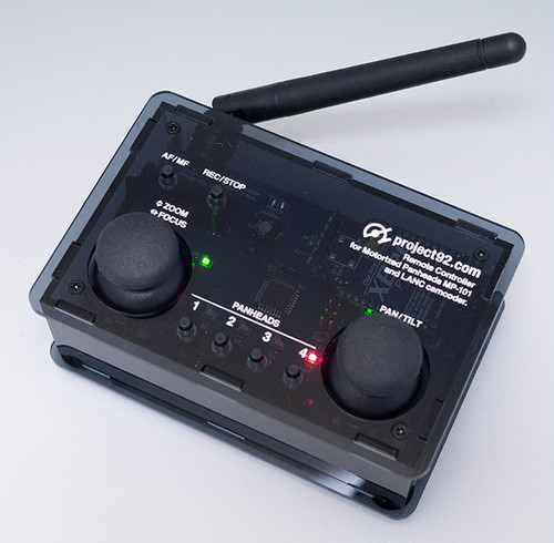 MP-101無線リモコンキット:リモコン+雲台側制御ユニット(U.FLアンテナタイプ)セット(完成品)