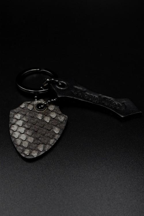 Item No.0325:Key ring/Diamond Python/Matt Gray