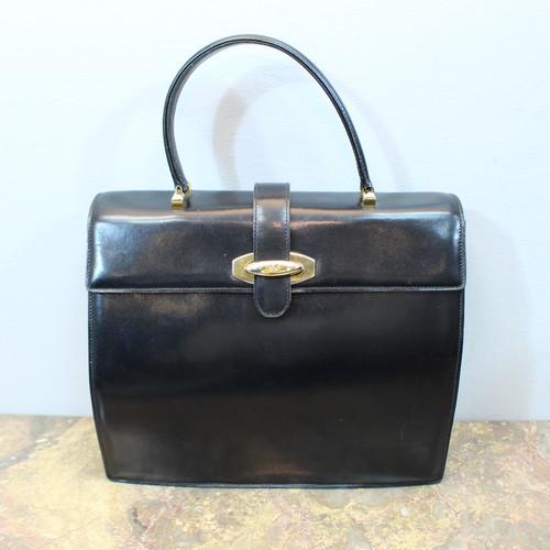.VINTAGE CELINE LEATHER HAND BAG MADE IN ITALY/ヴィンテージセリーヌレザーハンドバッグ 2000000032849