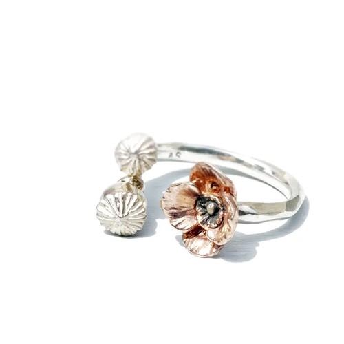 ポピー ring (pink)