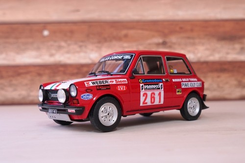 AUTOBIANCHI A112 ABARTH RALLY ISOLA D'ELBA 1978 1:18【税込価格】