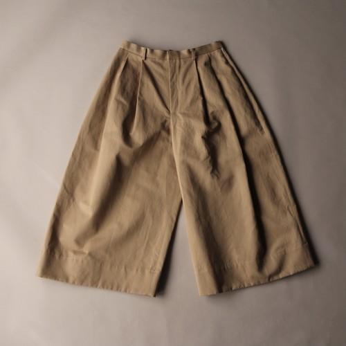 TENNE HANDCRAFTED MODERN/テン・ハンドクラフティッド・モダン ROUND PANTS #21-010 KHAKI