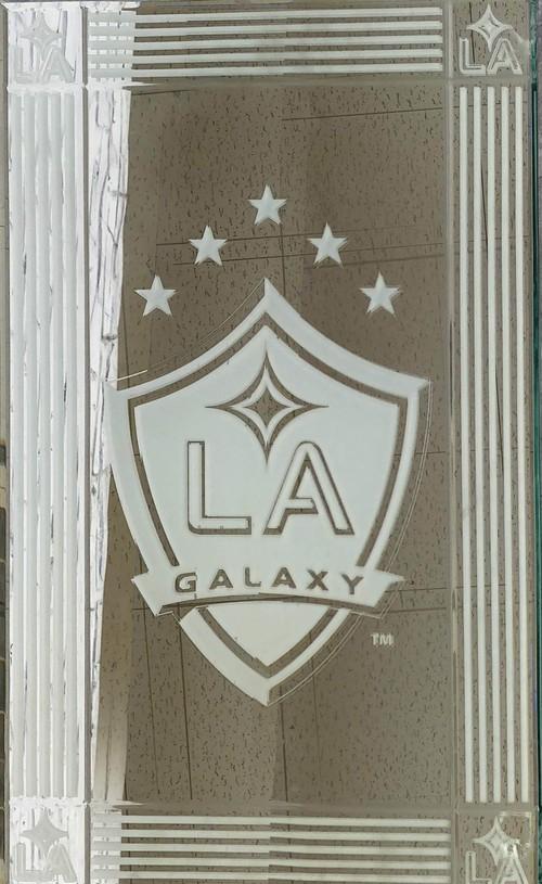 品番0286 パブミラー 『LA GALAXY(ロサンゼルス ギャラクシー)』 壁掛 アート ディスプレイ アメリカン雑貨