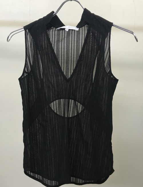 2000s VERONIQUE BRANQUIHNO SLEEVELESS
