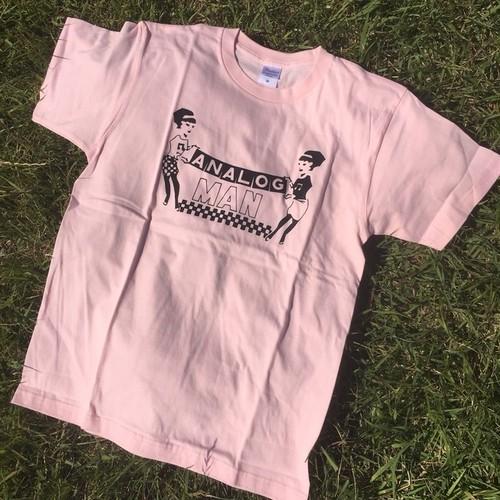 アナログマンティーシャツ2017(ポップ)ライトピンク