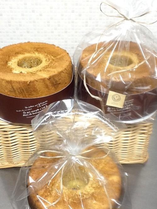 自家製米粉のシフォンケーキ(ホール)