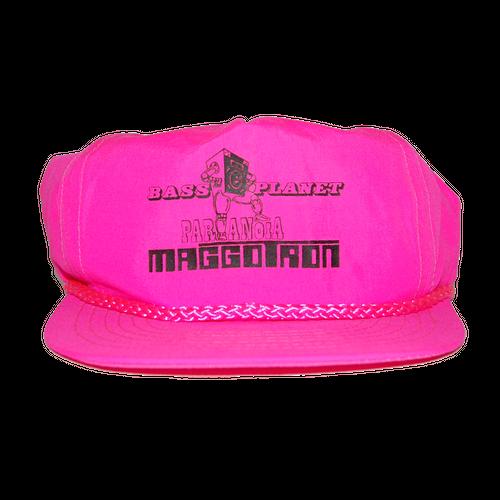 """Maggotron"" Vintage Snapback Cap Used"
