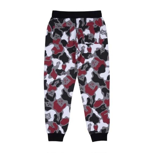 RIPNDIP - Nermal Camo Sweat Pants (Red Camo)