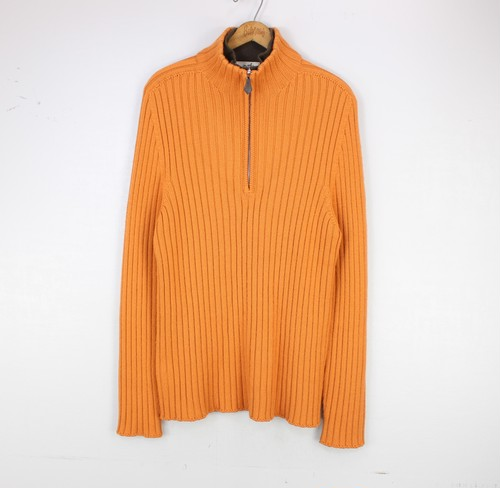 .HERMES CASHMERE BREND WOOL ZIP KNIT BLOUSON MADE IN ITALY/エルメスカシミヤ混ウールジップニットブルゾン2000000055633