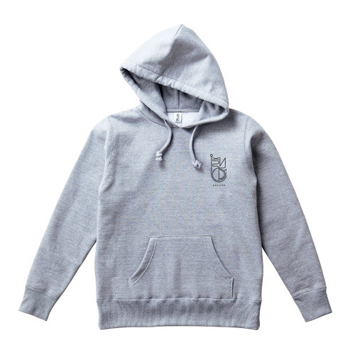 LOGO PULL OVER : Gray