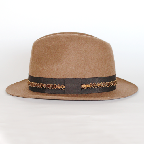 OUTLET / [curione] Basic Wool Hat BRW