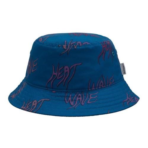 【Carhartt WIP】 HEAT WAVE BUCKET HAT - Heat Wave Print, Shore カーハート ハット 帽子