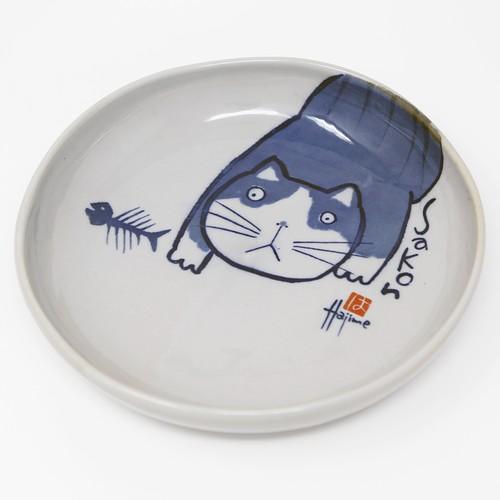 猫皿(やんちゃ猫Kabamaru大皿)