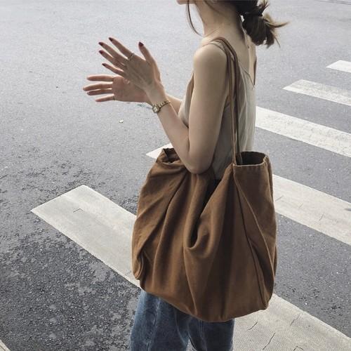 3color : Big canvas tote bag 93043 ビッグ キャンバスバッグ トートバッグ