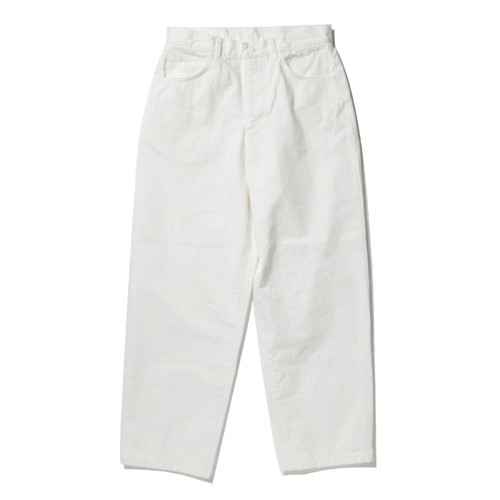 SO ORIGINAL 5 POCKET DENIM PANTS(WHITE)