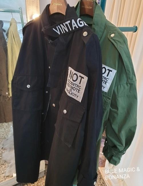 予約注文商品 ビンテージミリタリージャケット ミリタリージャケット ジャケット 韓国ファッション