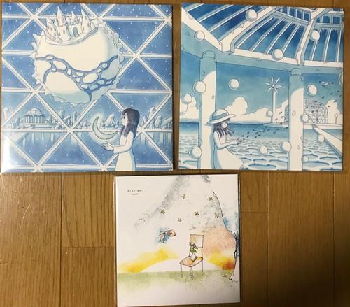 "renge 7"" records + Blue to Blue CD set"