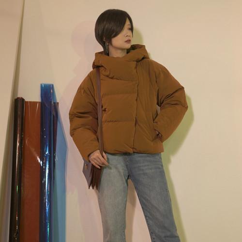 ウィンターフードジャケット ホワイトコート ショート 冬物 ILIAD2674578
