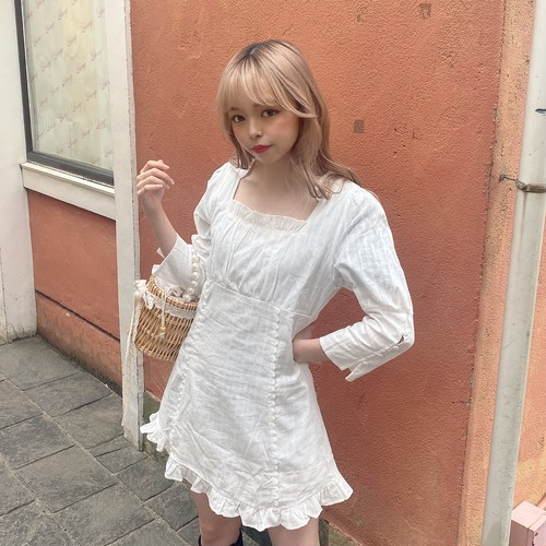 lovely frill onepiece