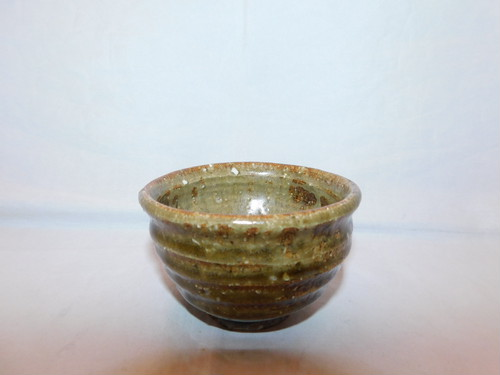 備前盃(No2) porcelain sake one cup
