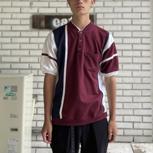 USED COTTON POLYESTER S/S POLO-SHIRT
