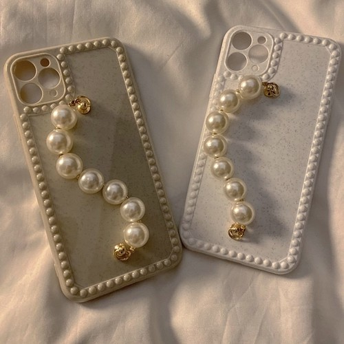 pearl chain iPhone case 2c's