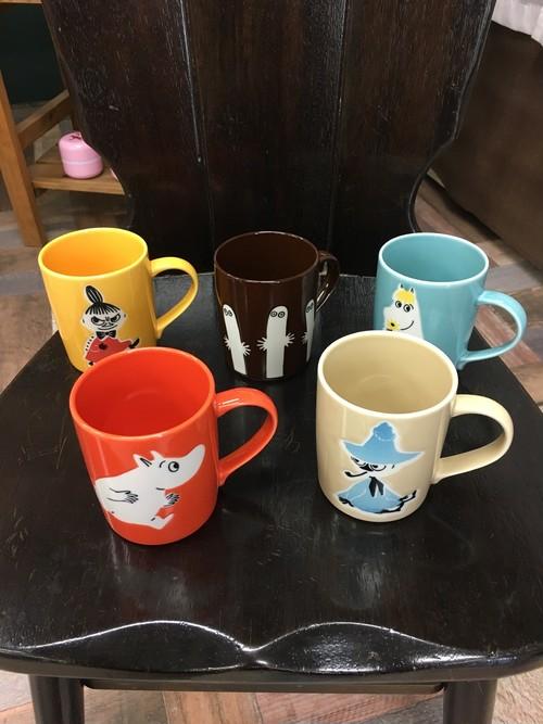 ムーミンマグカップ(5種)