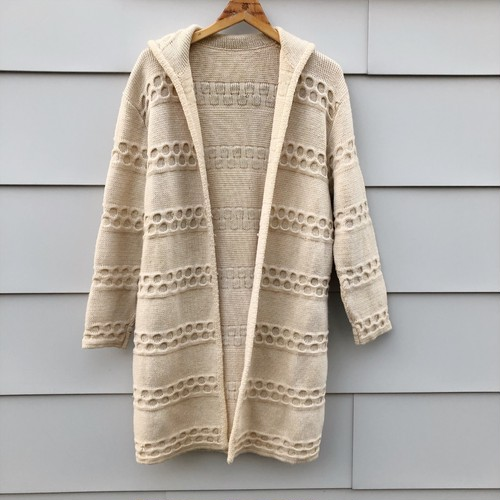 Vintage Knit Jacket Coat